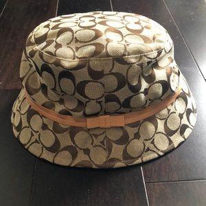 06705f561 Women Coach Signature Bucket Hat on Poshmark